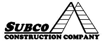 Subco Construction Logo